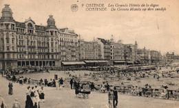 Oostende - Ostende,  Strand - Plage, Zeedijk, Digue, ( Antwerpen ), 1923. - Oostende