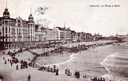 Oostende - Ostende,  Strand - Plage, Zeedijk, Digue, 1910. - Oostende