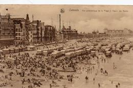 Oostende - Ostende,  Zeedijk, Digue, Strand, Plage, Stempel Eeuwfeest België, Timbré Du Centenaire De La Belgique 1930. - Oostende