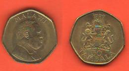 Malawi 50 Tambala 1996 Bronze Coin - Malawi