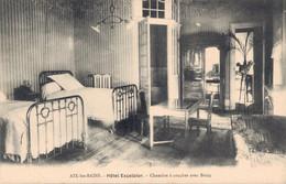73 AIX LES BAINS HOTEL EXCELSIOR CHAMBRE A COUCHER AVEC BAINS - Hotels & Restaurants