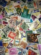 100+DIFFERENT WORLDWIDE USED MINT STAMPS MINIATURE SHEETS  SELECTED FROM HUGE LOT - Verzamelingen (zonder Album)