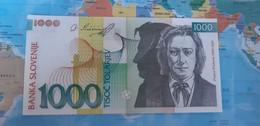 SLOVENIA 1000 TOLAR P 32c 2005 UNC - Slovenia