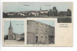 Gruss Aus FREI ALTDORF Moselle Eglise Maison Knepffer  ....G - Autres Communes