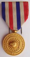 Médaille Des CHEMINOTS 1943 TRAIN SNCF - Non Classificati