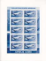 Feuillet De 10 TP PA 69 (Airbus A380), Neuf ** Sous Blister - 1960-.... Mint/hinged