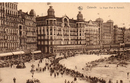Oostende - Ostende Casino Kursaal, Zeedijk - La Digue. ( Forest - Vorst - Bruxelles - Brussel ) 1934. - Oostende