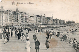 Oostende Ostende, Zeedijk, Digue. (Bruxelles - Brussel ), 1914. - Oostende