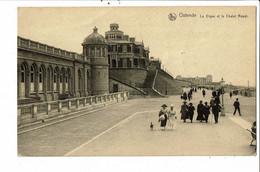 CPA Carte Postale Belgique-Ostende La Digue Et Le Chalet Royal  VM30541 - Oostende