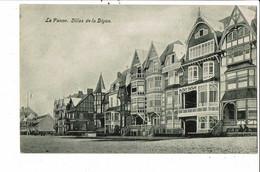 CPA Carte Postale Belgique-La Panne Villas De La Digue  VM30542 - De Panne