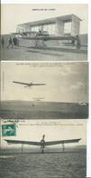 AVIATION - Lot De 3 C.P.A. - Aviateurs