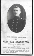 Van Genechten Henri (gesneuveld Olmen 1891 -yzer 1914) - Religion & Esotericism