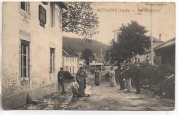 25 METABIEF Rue De L'Eglise (très Animée ) ( Carte Peu Courante) - Other Municipalities