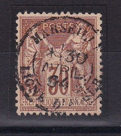 D 162 / SAGE N° 80 OBL / CACHET PAQUEBOT - 1876-1898 Sage (Type II)