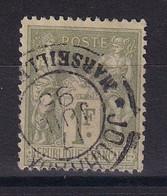 D 162 / SAGE N° 82 OBL / CACHET JOURNAUX - 1876-1898 Sage (Type II)