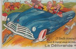 14. .LA DELIVRANDE ( A Toute Pompe Sous Le Capot Vous Verrez ) - Móviles (animadas)