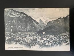Interlaken Und Die Jungfrau. Précurseur. 15 Gfeller - BE Berne