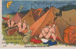 85 SAINT GILLES CROIX DE VIE ( .sous La Tente Vous Verrez.. ) - Móviles (animadas)