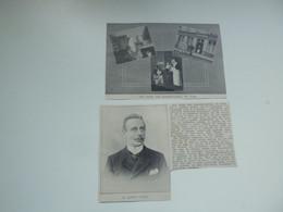 """Origineel Knipsel ( D 394 ) Uit Tijdschrift """" Ons Volk """"  1912 :   Alfons Donck   Yper  Ypres  Ieper - Zonder Classificatie"""