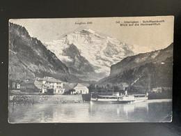 Interlaken. Schiffsankunft. Blick Auf Die Heimwehfluh - BE Berne