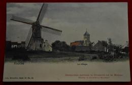 CPA Colorisée - Knocke Le Village / Publicité Chicorée De La Meuse. Story à Jambes-Namur - Knokke