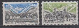 ANDORRE-1986.N°348/349** EUROPA - Ongebruikt