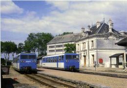 Gare De Valencay(36) Rencontre D'autorails Verney RV - Other Municipalities