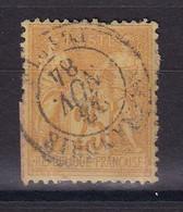D 162 / SAGE N° 92 OBL / CACHET ALEXANDRIE - 1876-1898 Sage (Type II)