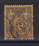 D 162 / SAGE N° 93 OBL COTE 50€ - 1876-1898 Sage (Tipo II)