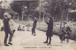 15 - CANTAL - La Bourrée à Quatre - Accordéon - Autres Communes