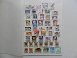 AUTRICHE COLLECTION DE  138 DIFFERENTS OBLITERES  1er CHOIX PERIODE 1975/1979 + 2 BF (voir Photos) - Verzamelingen (zonder Album)