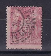 D 162 / SAGE N° 104 OBL  COTE 45€ - 1898-1900 Sage (Type III)