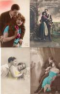 DC1485 - Ak Lot 4 Karten Motivkarten Paar Paare - Couples