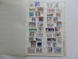 AUTRICHE COLLECTION DE  160 DIFFERENTS OBLITERES  1er CHOIX PERIODE 1990/1994 + 2 BF (voir Photos) - Verzamelingen (zonder Album)