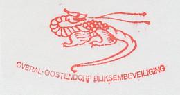 Meter Cut Netherlands 1988 Dragon - Mythology