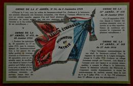 CPA La Légion étrangère - Honneur Et Patrie - Drapeau Français - Patriotic