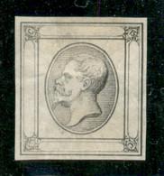 Regno - Vittorio Emanuele II - 1863 - Saggio - 15 Cent Litografico (Tipo 12) In Grigio Senza Diciture - Senza Gomma - Non Classificati