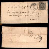 Regno - Vittorio Emanuele II - Torino 22 Dicembre 1863 - 5 Cent (L16) Isolato Su Letterina Per Città - Non Classificati