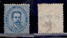 Regno - Umberto I - 1879 - 25 Cent (40) - Gomma Originale (500) - Non Classificati