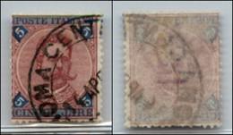 Regno - Umberto I - 1891 – 5 Lire Umberto (64) Usato (400) - Non Classificati