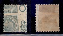 Regno - Vittorio Emanuele III - 1906 - 5 Cent Leoni (81ne) - Dentellatura Ruotata - Gomma Originale (300) - Non Classificati