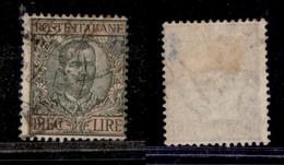 Regno - Vittorio Emanuele III - 1910 - 10 Lire Floreale (91) - Usato (45) - Non Classificati
