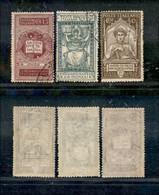 Regno - Vittorio Emanuele III - 1921 - Dante Alighieri (116/118) - Serie Completa  Usati (120) - Non Classificati