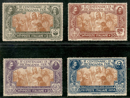 Regno - Vittorio Emanuele III - 1923 - Propaganda Fide (131/134) - Serie Completa - Gomma Integra - Non Classificati