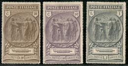 Regno - Vittorio Emanuele III - 1923 - Camice Nere (147/149) - Serie Completa - Gomma Originale - Non Classificati