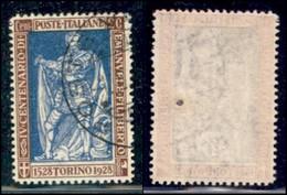 Regno - Vittorio Emanuele III - 1928 - 20 Cent Filiberto (230) - Usato (450) - Non Classificati