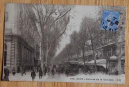 06 : Nice - Avenue De La Victoire - Animée : Petite Animation - Commerces - Tramway Ou Autobus - (n°20309) - Unclassified
