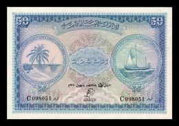 Maldivas Maldives 50 Rufiyaa 1960 Pick 6b SC UNC - Maldives