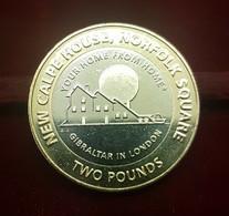 Gibraltar 2 Pounds - Elizabeth II New Calpe House 2018 New Bimetallic UNC - Gibraltar