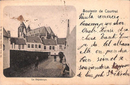 Souvenir De Courtrai - Le Béguinage (Nels 1902 + Farine Lactée) - Kortrijk